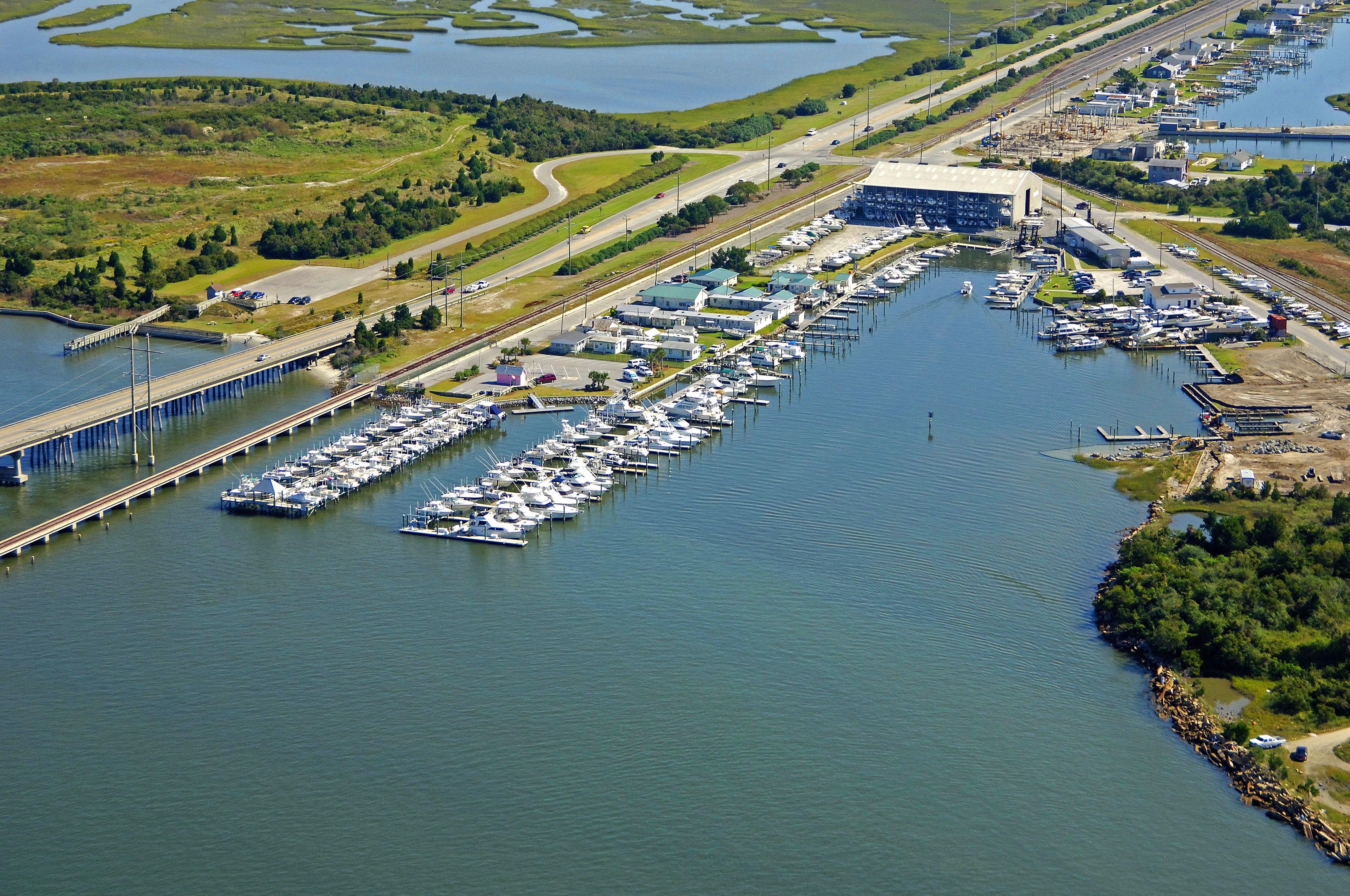 Radio Island Marina In Beaufort, NC, United States