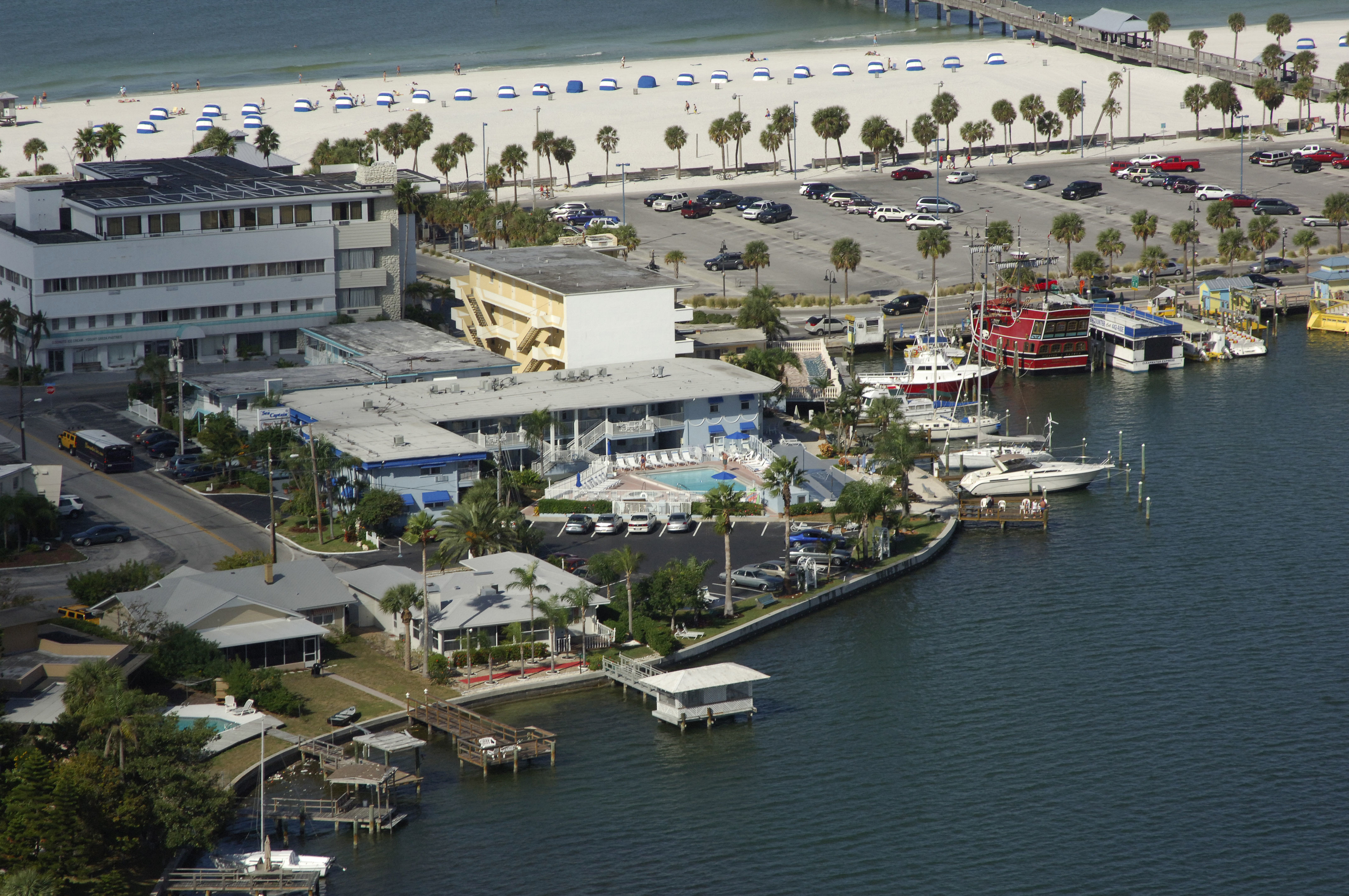 Sea Captain Resort On The Bay Clearwater Beach Fl