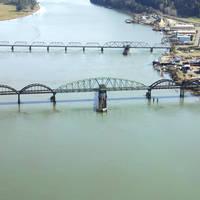 Umpqua River Swing Bridge