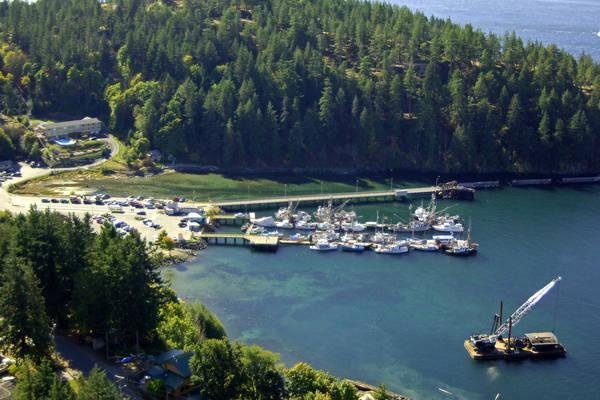 Quathiaski Cove Public Wharf