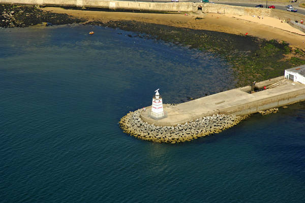 Hartlepool Old Pier Light