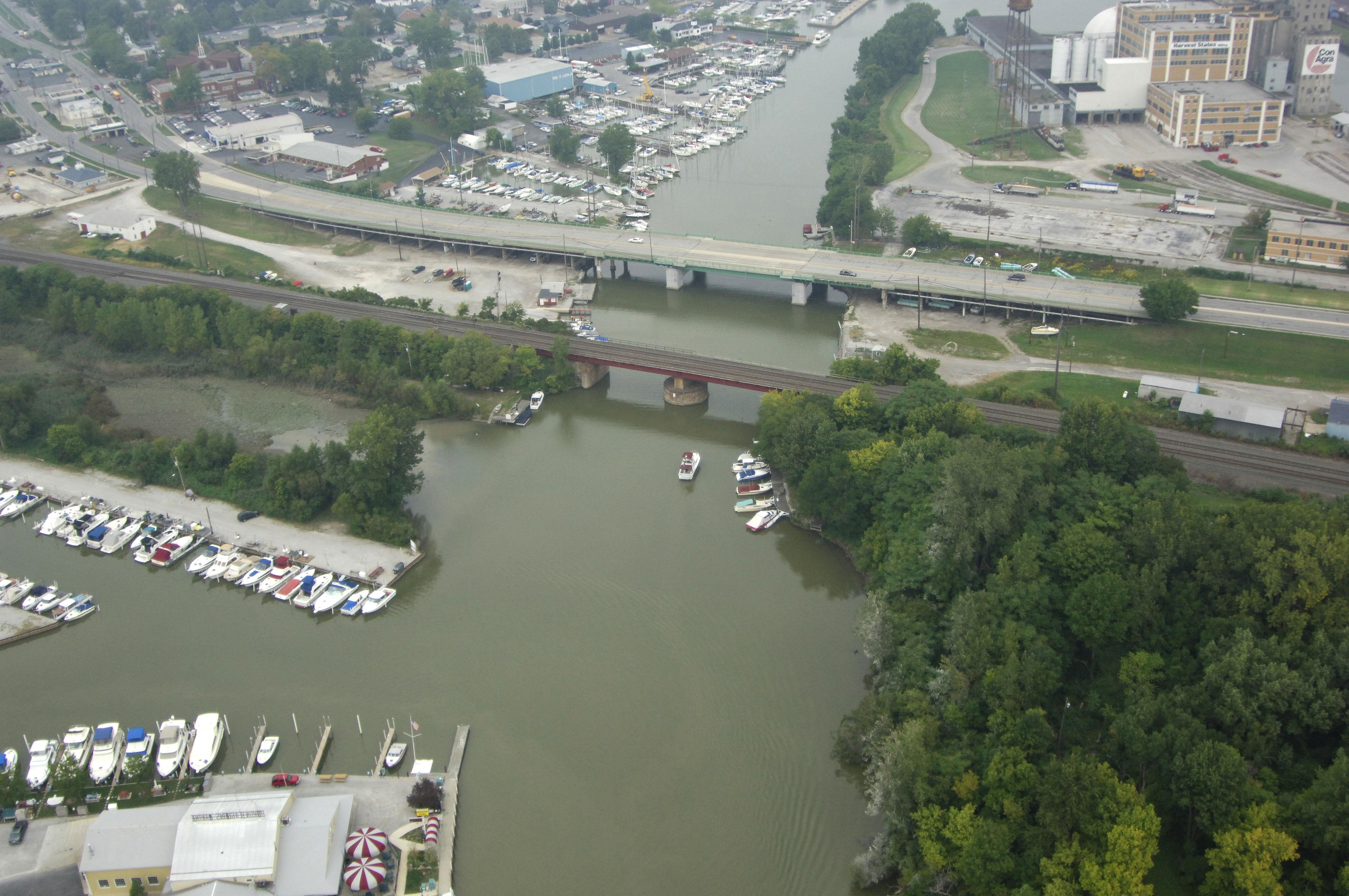 Michigan Exposures: A Bridge Over the Huron River