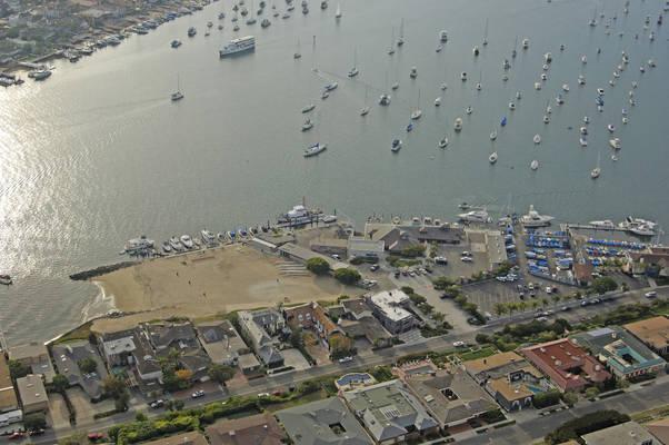 Newport Harbor Patrol Guest Dock
