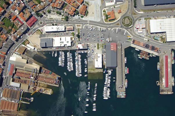 De Bouzas Naval School Marina