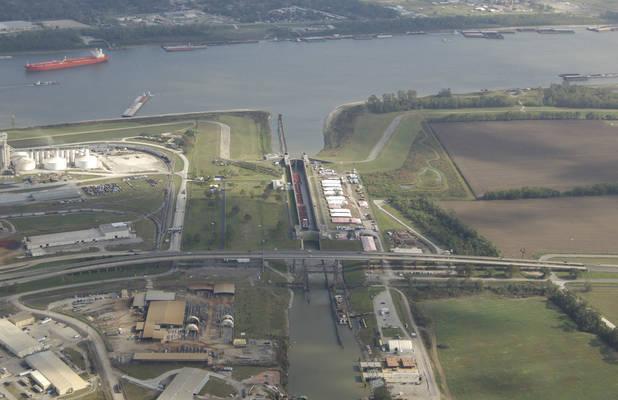Port Allen Canal Lock