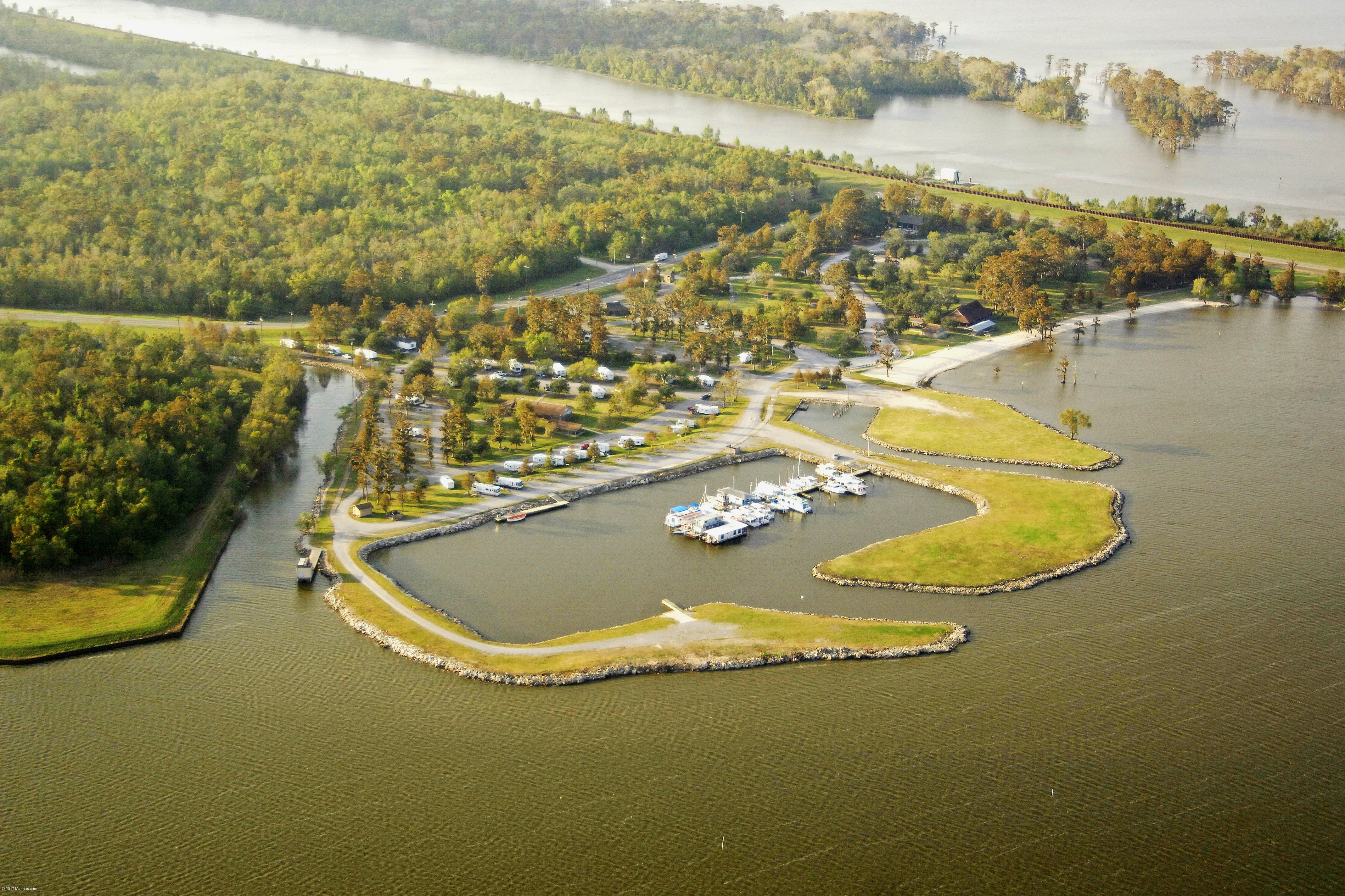 Lake End Park Marina In Morgan City La United States