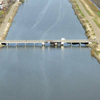 Bishop Cut Swing Bridge