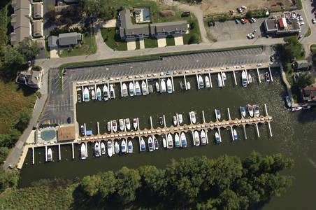 New Buffalo Harbor Landing Marina