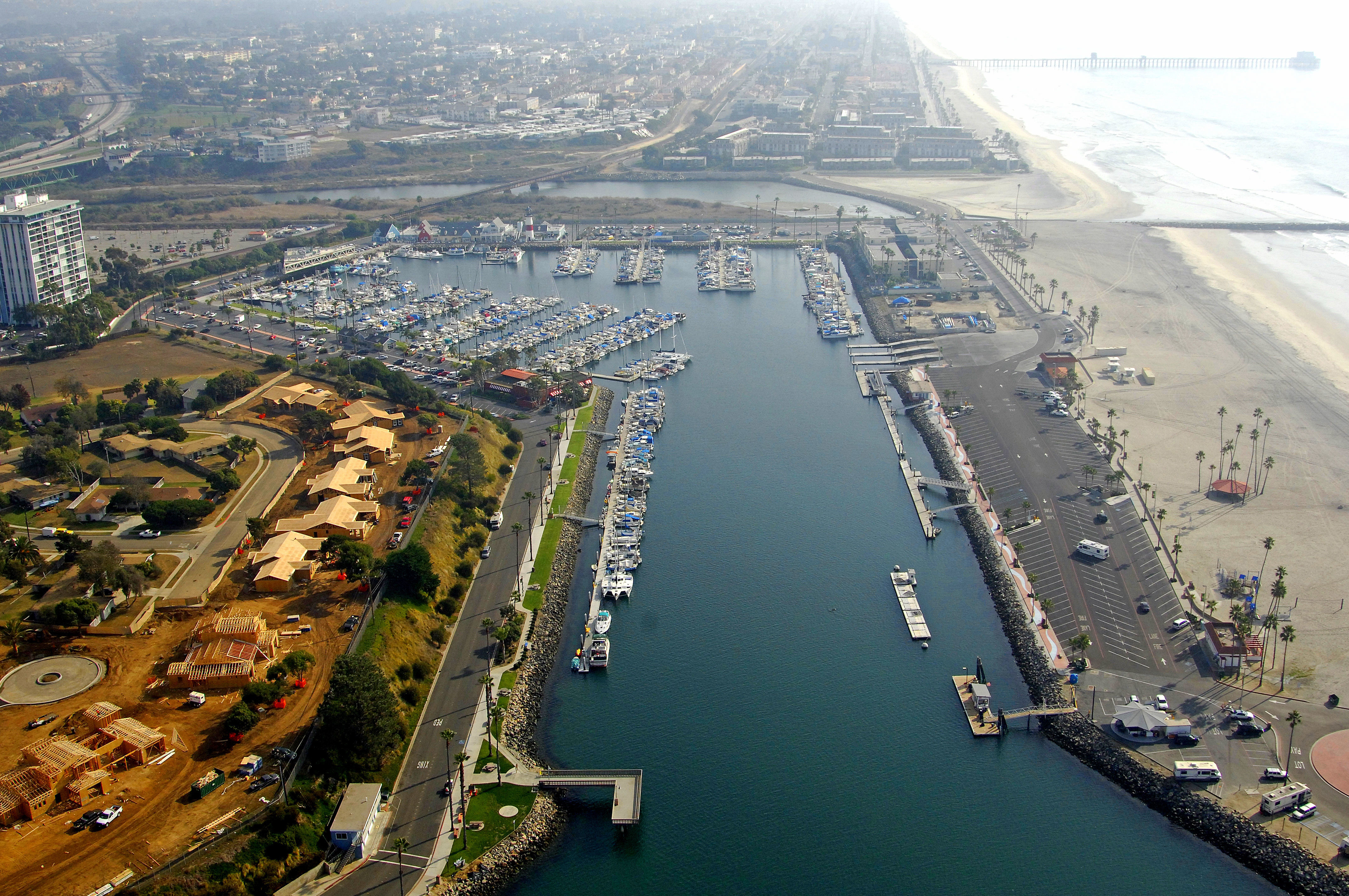 Oceanside Harbor Marina In Oceanside Ca United States