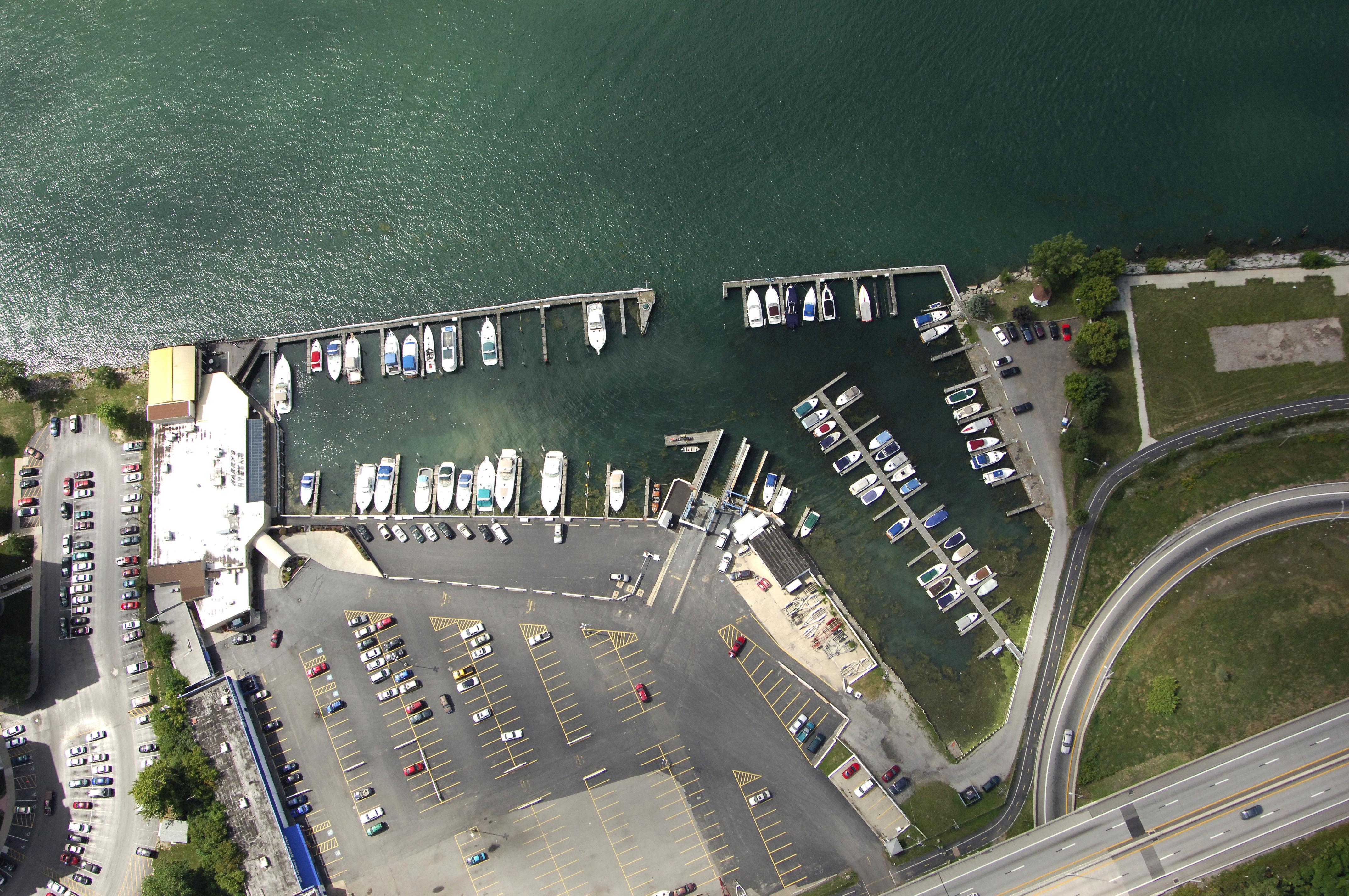harbour place marina in buffalo  ny  united states