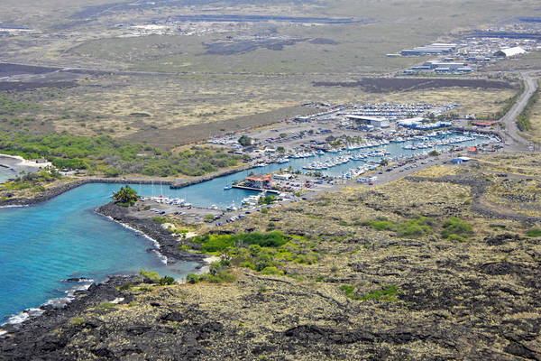 Honokohau Marina and Small Boat Harbor