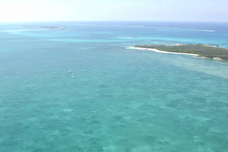 Powell Cay Anchorage