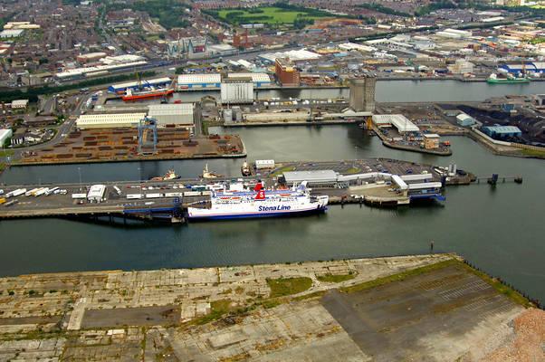 Seacat & Stena Line Ferry Terminal