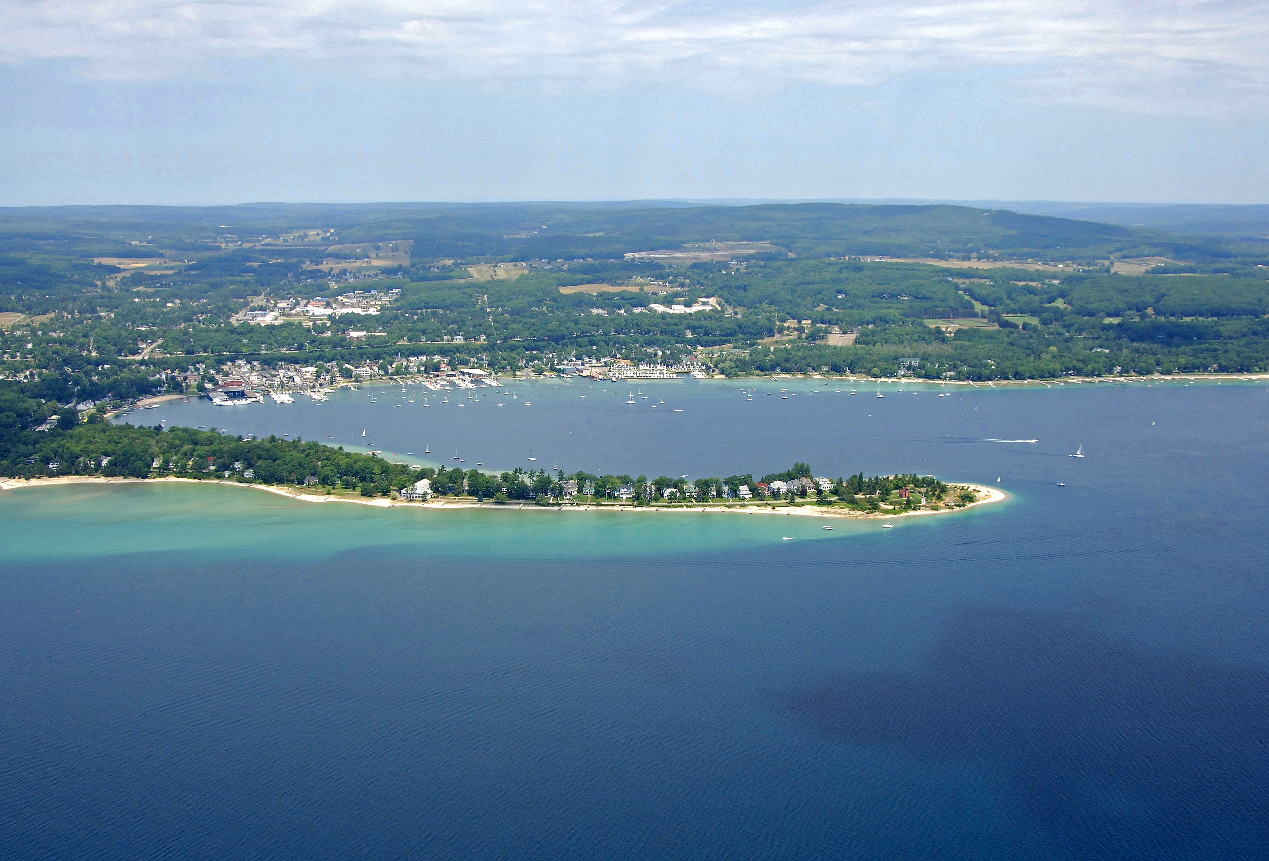 Little Traverse Bay In Harbor Springs Mi United States