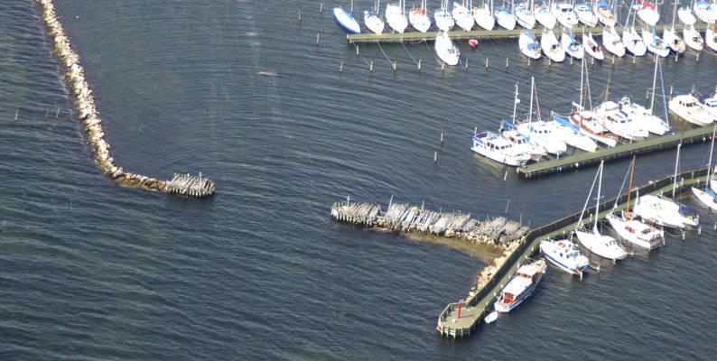 Kalvehave Havn Inlet