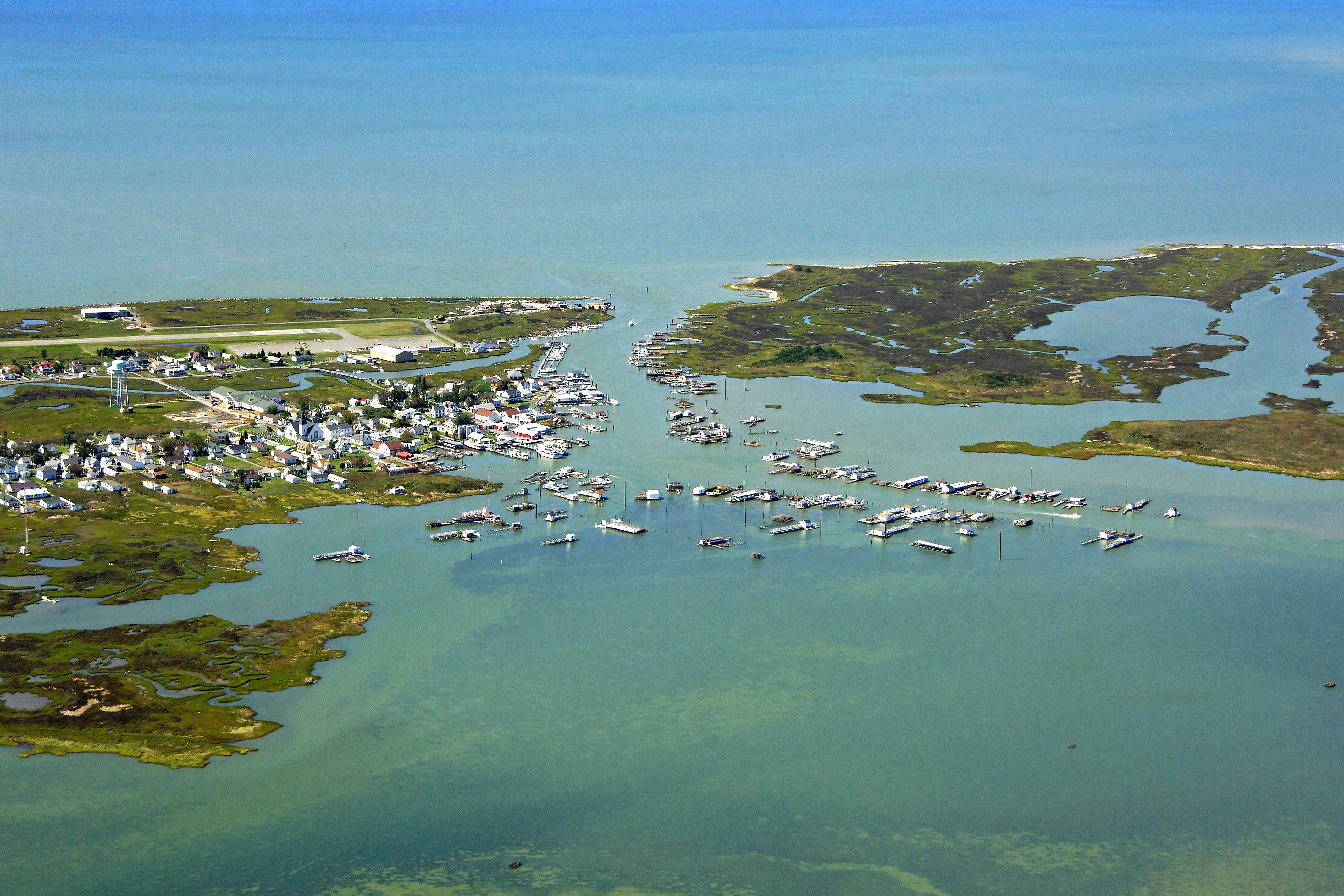 Tangier Island Virginia Map.Tangier Island Harbor In Tangier Va United States Harbor Reviews