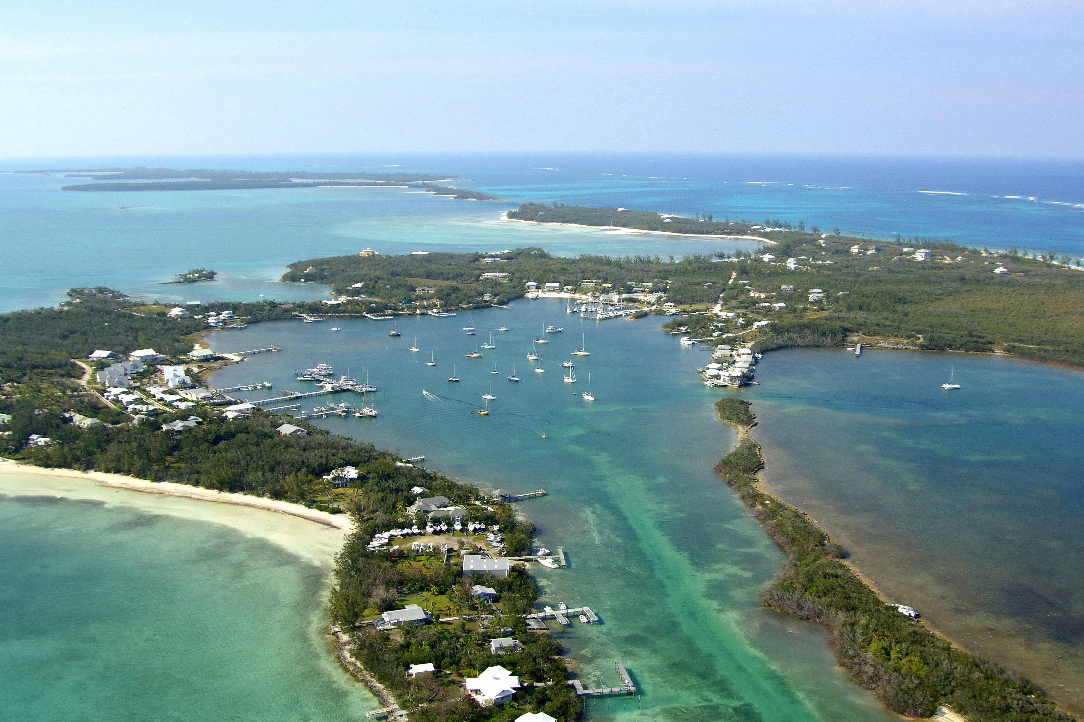 White Sound Anchorage In Green Turtle Cay Ab Bahamas