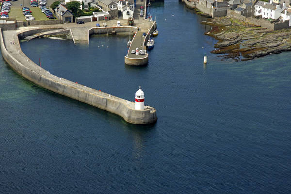 Castletown New Pier Light