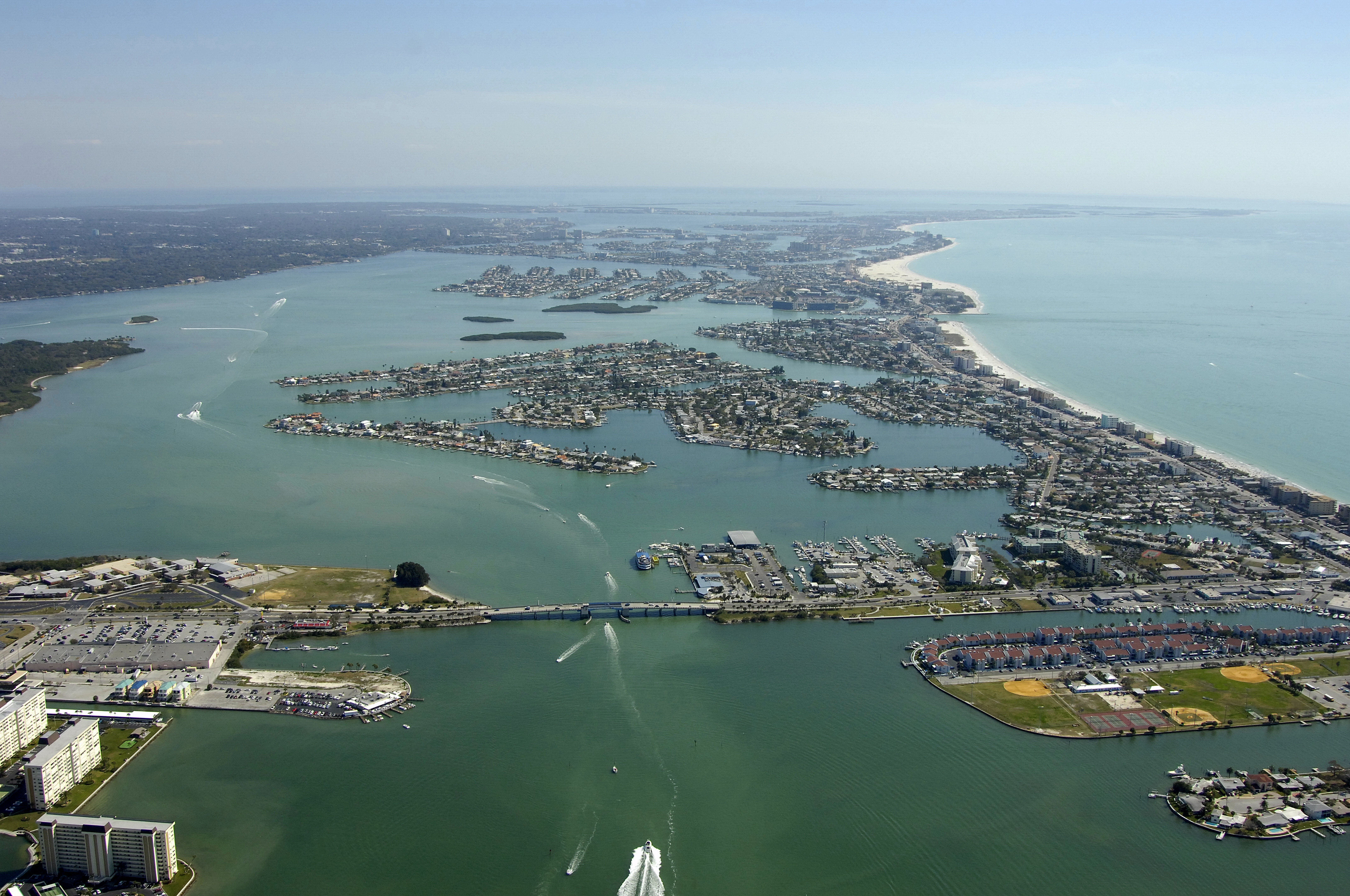 Treasure Island Florida Waterfront Real Estate