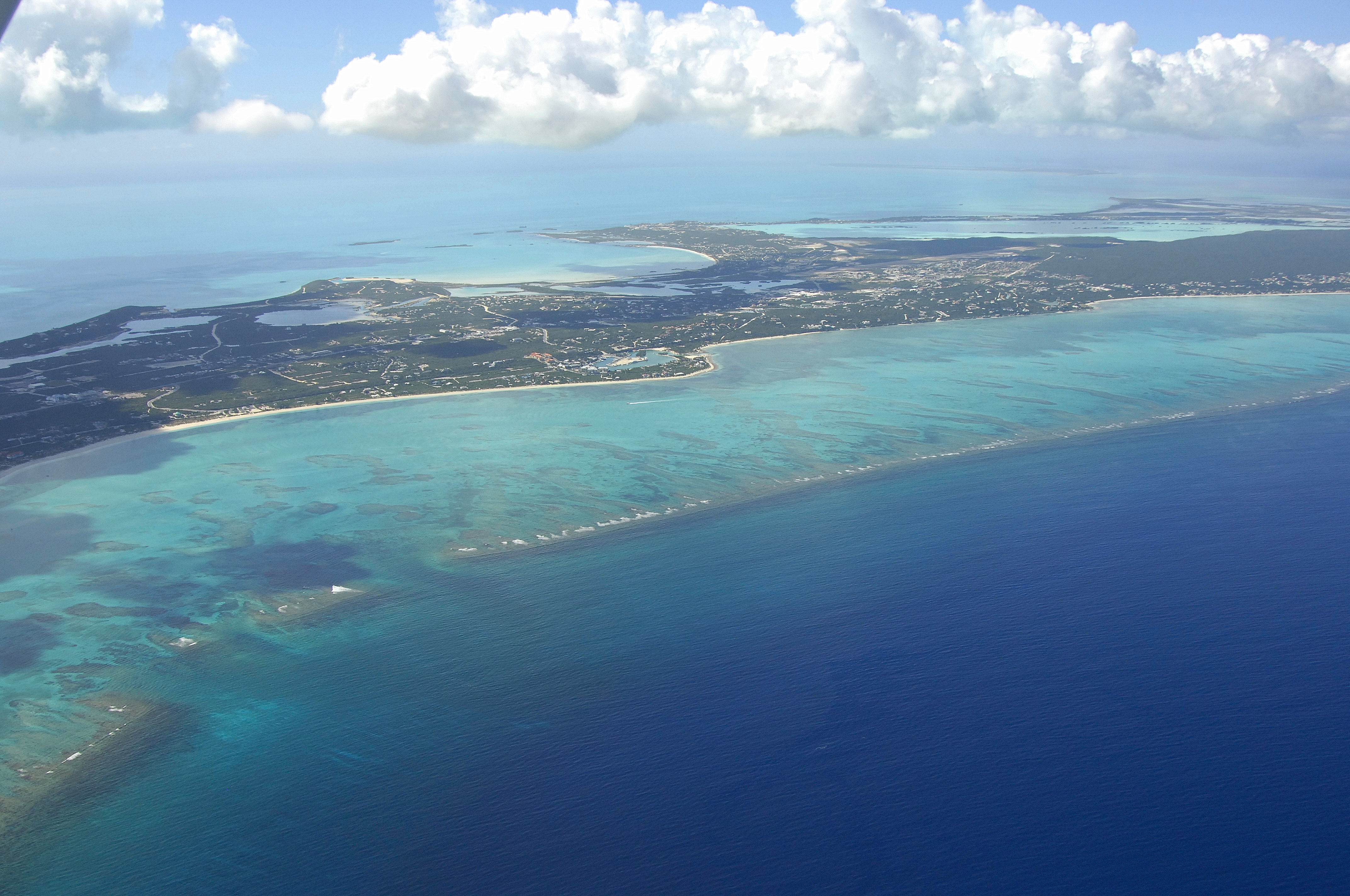 North Providenciales Island Harbor in Providenciales, Turks