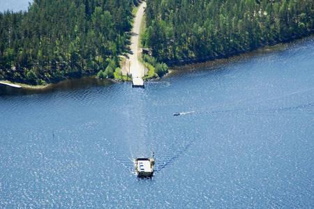 Karhusalmi Huusniemi Ferry