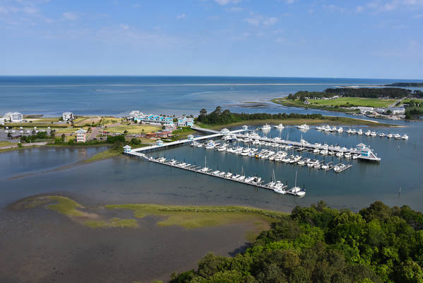 The Oyster Farm Marina at Kings Creek