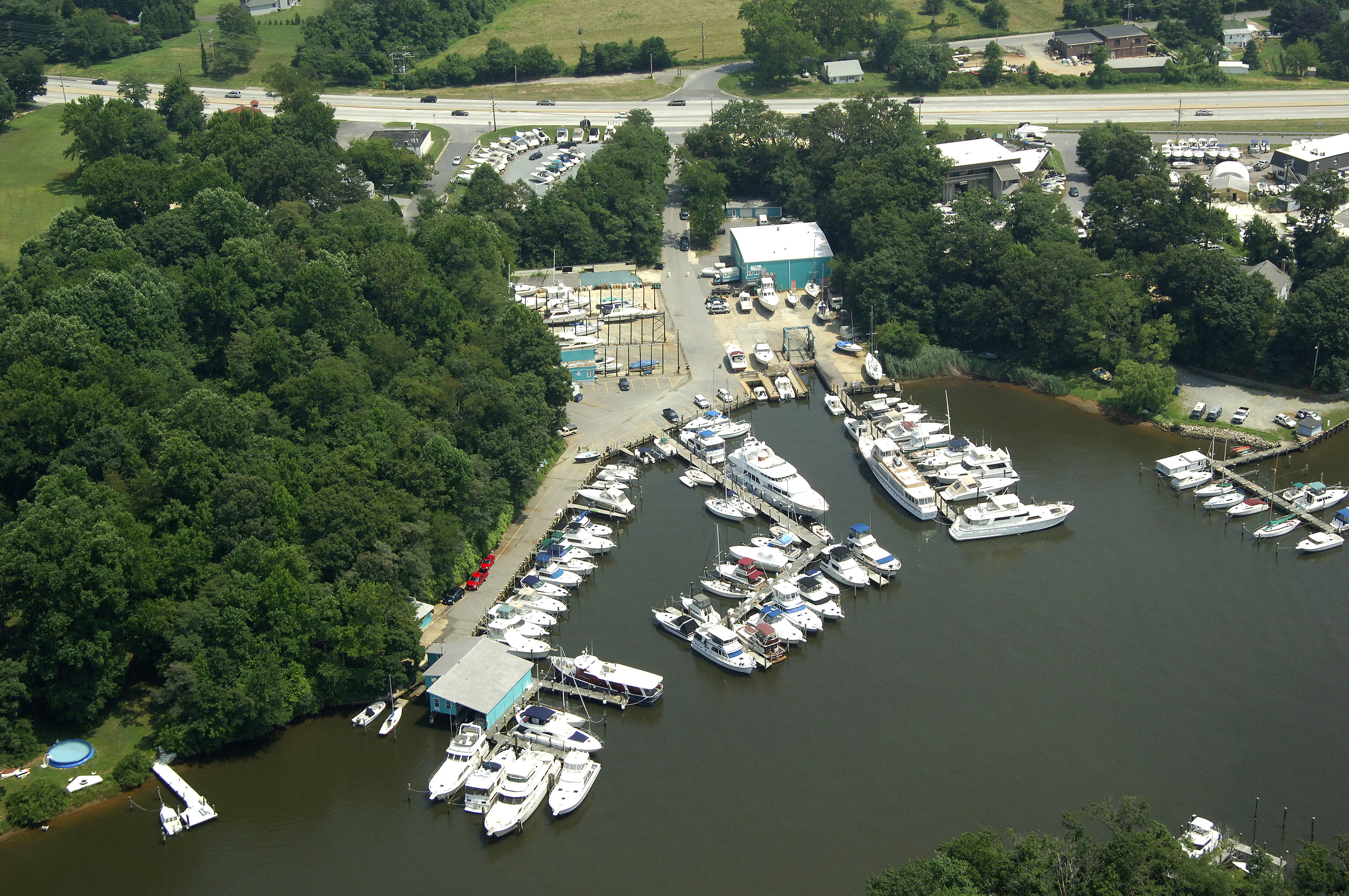Hartge Yacht Harbor Piney Narrows Yacht Haven In Chester MD