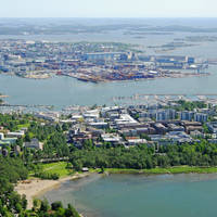 Lauttasaarenselka Harbour