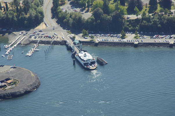 Point Defiance-Tahlequah Ferry, Point Defiance