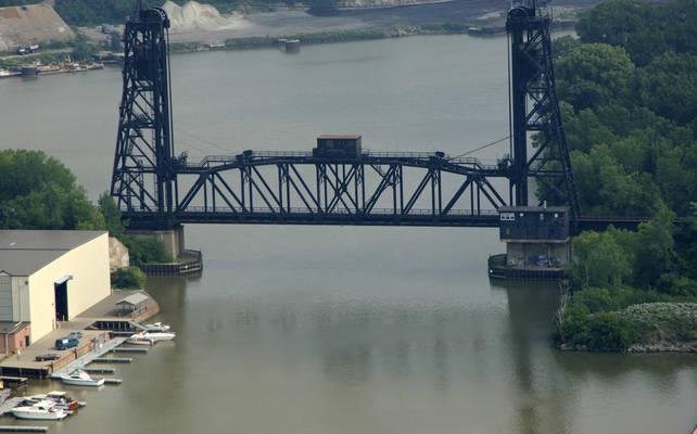 Lorain RailRoad Lift Bridge