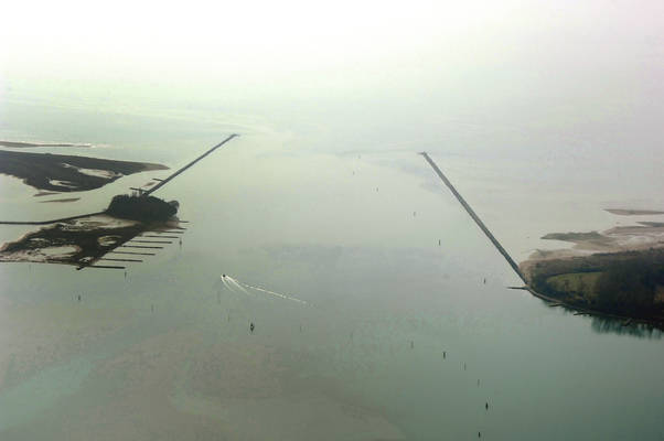 Marano Lagoon Inlet