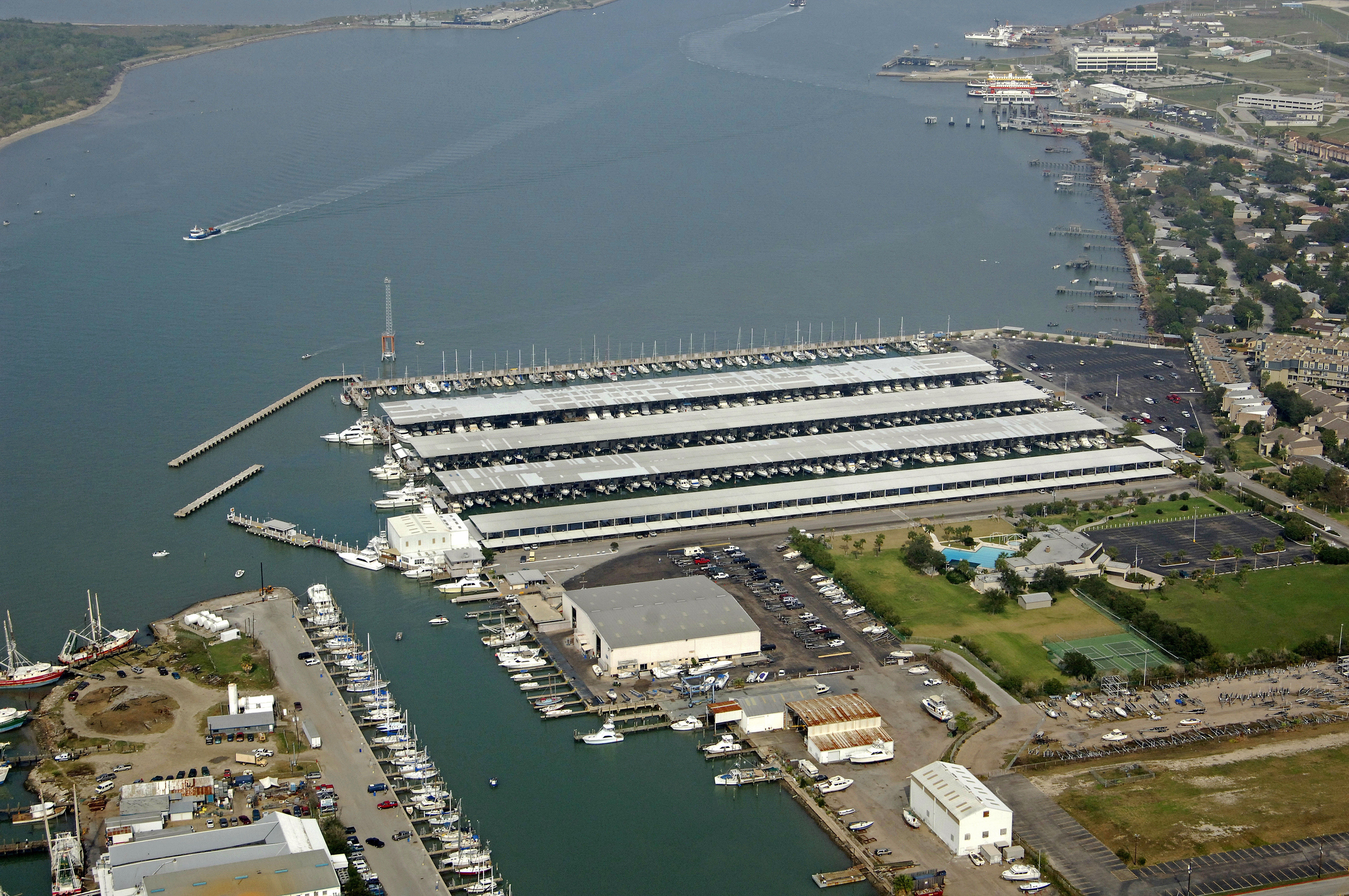 Galveston Yacht Basin In Tx