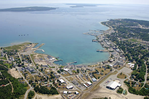 St Ignace Harbor