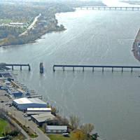 Fox Valley & Western Swing Bridge South