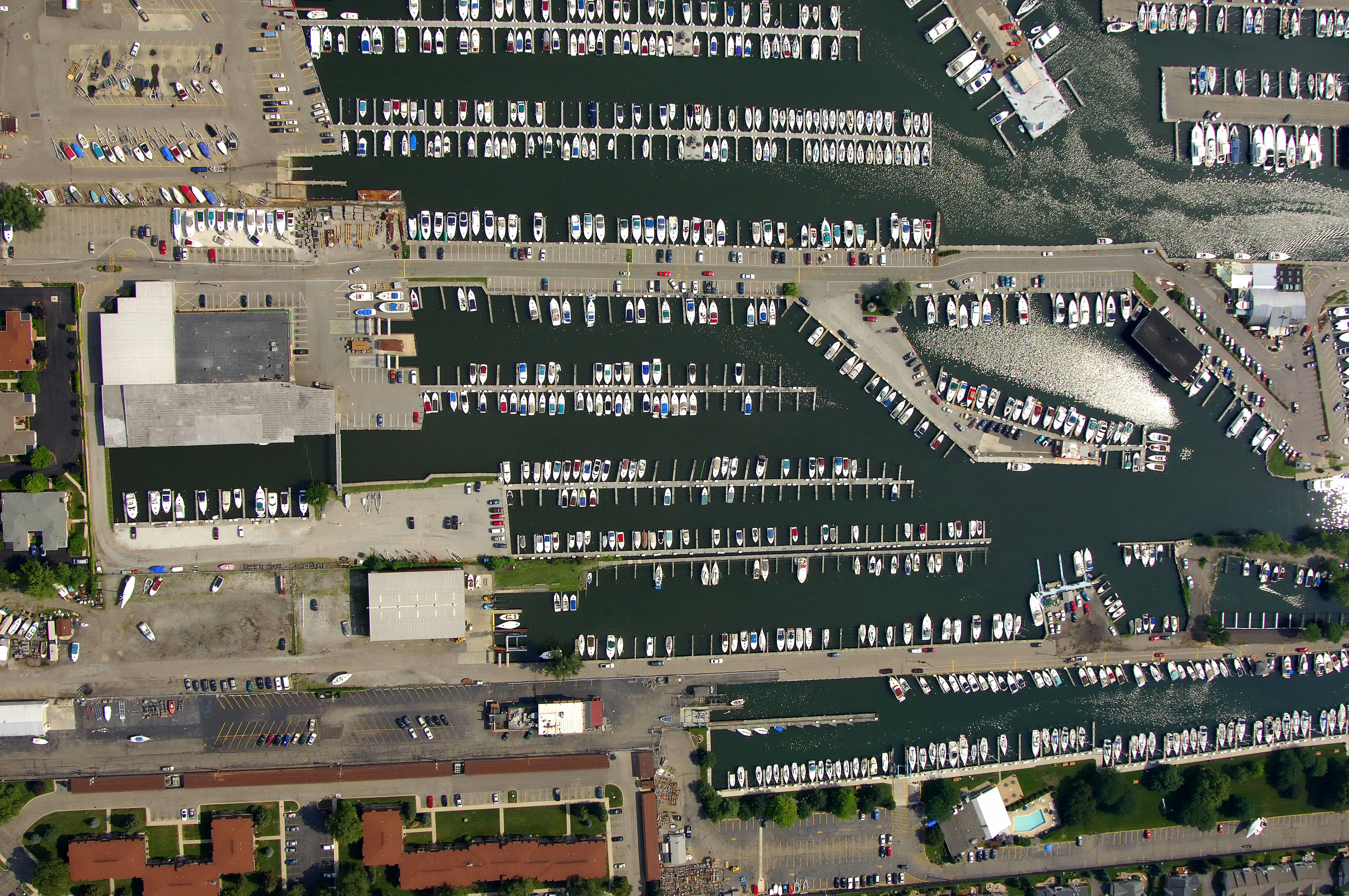 Emerald city harbor in st clair shores mi united states for Emerald city nickname