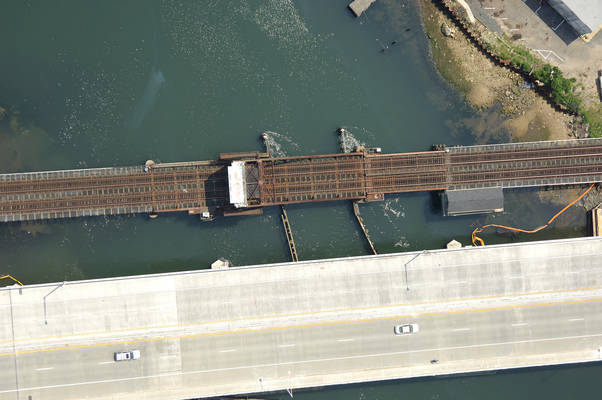 Shark River Railroad Bascule Bridge