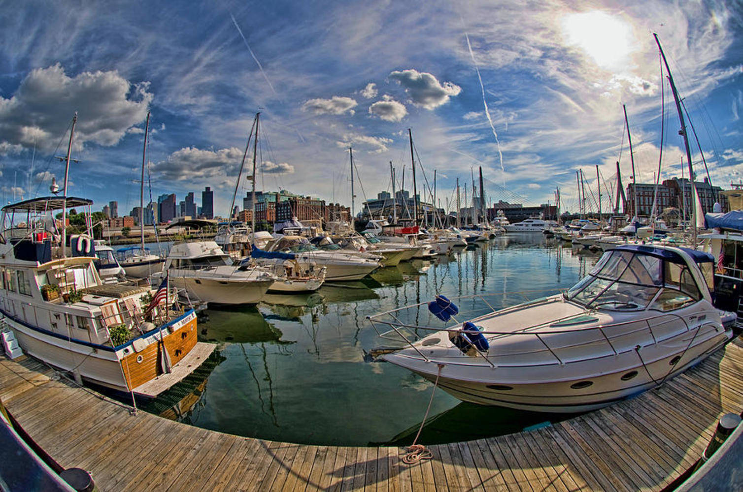 Constitution Marina Boston Harbor Slip Dock Mooring