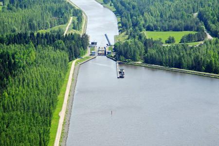 Saimaan Canal Soskua Sulku Lock