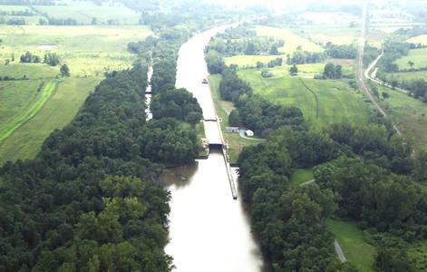 Champlain Canal Lock 9