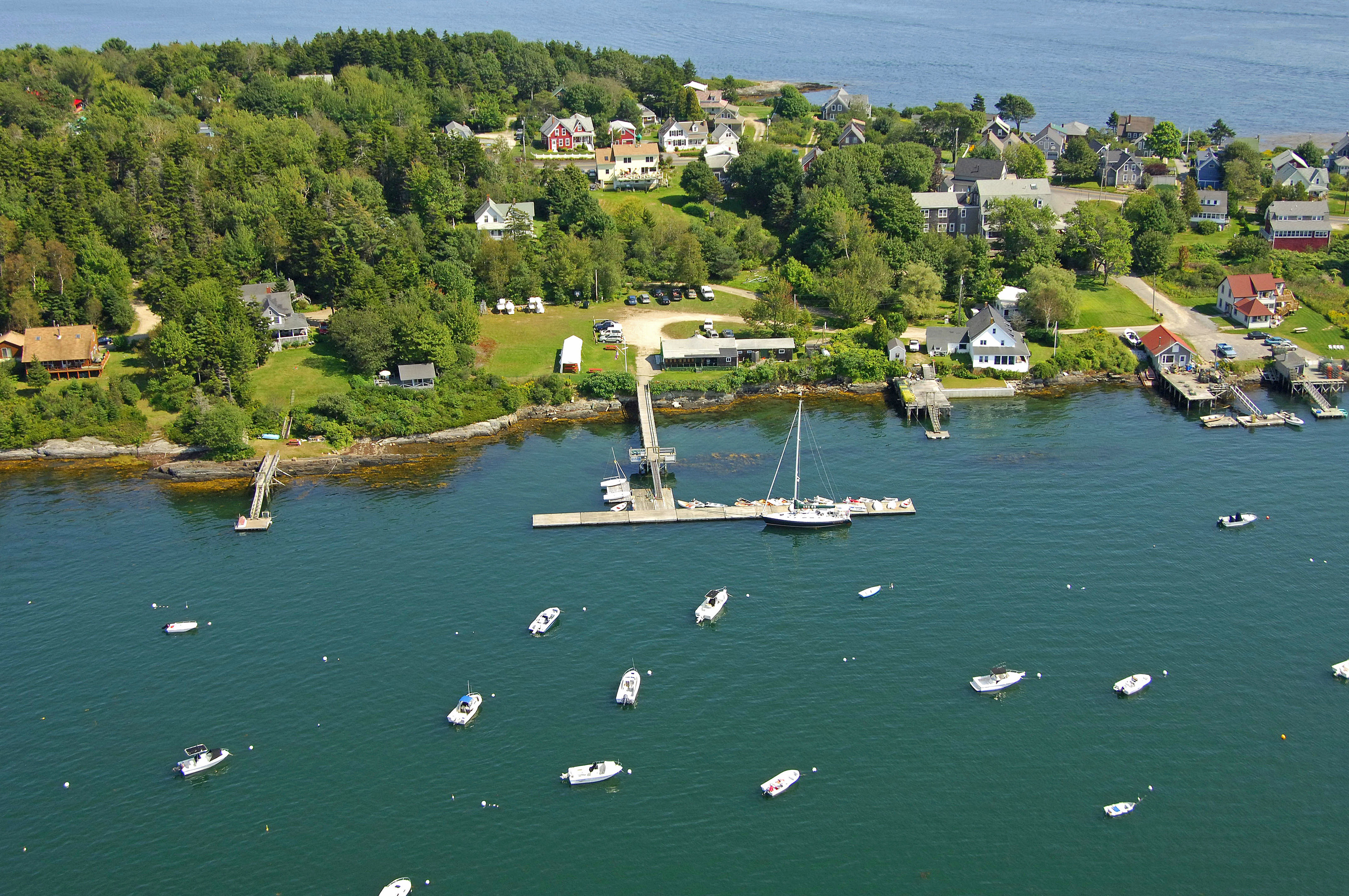 Orrs Bailey Yacht Club in Orrs Island, ME, United States