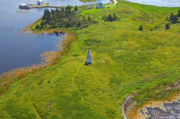 Musquodoboit Harbour Range Lights Lighthouse