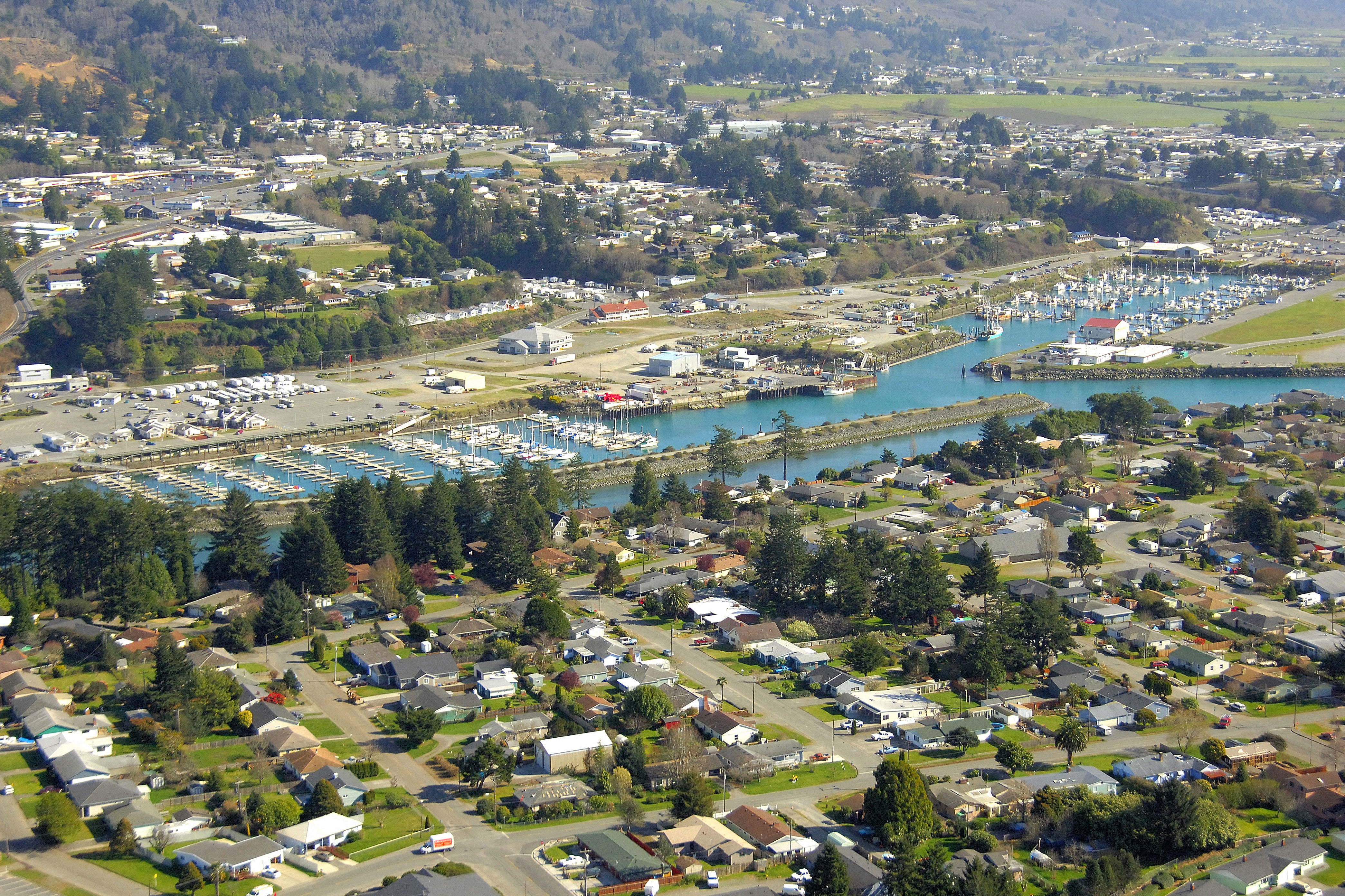 Port Of Brookings Harbor In Brookings Or United States