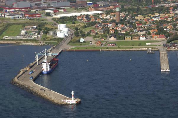 Höganäs Industrial Harbour