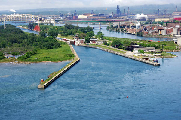 Sault St. Marie Canal East Inlet