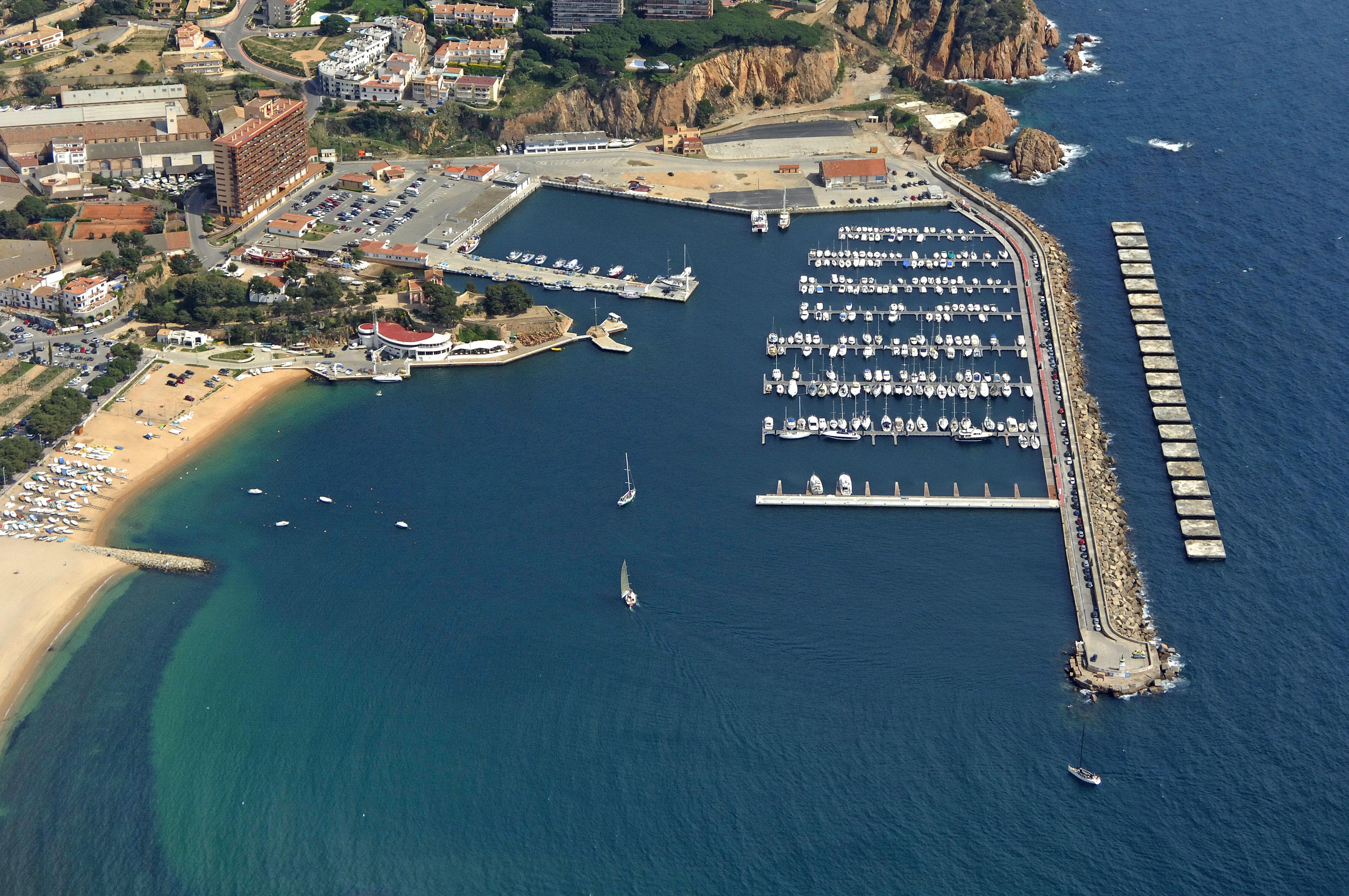 Sant Feliu De Guixols Marina in Sant Feliu De Guixols, Spain