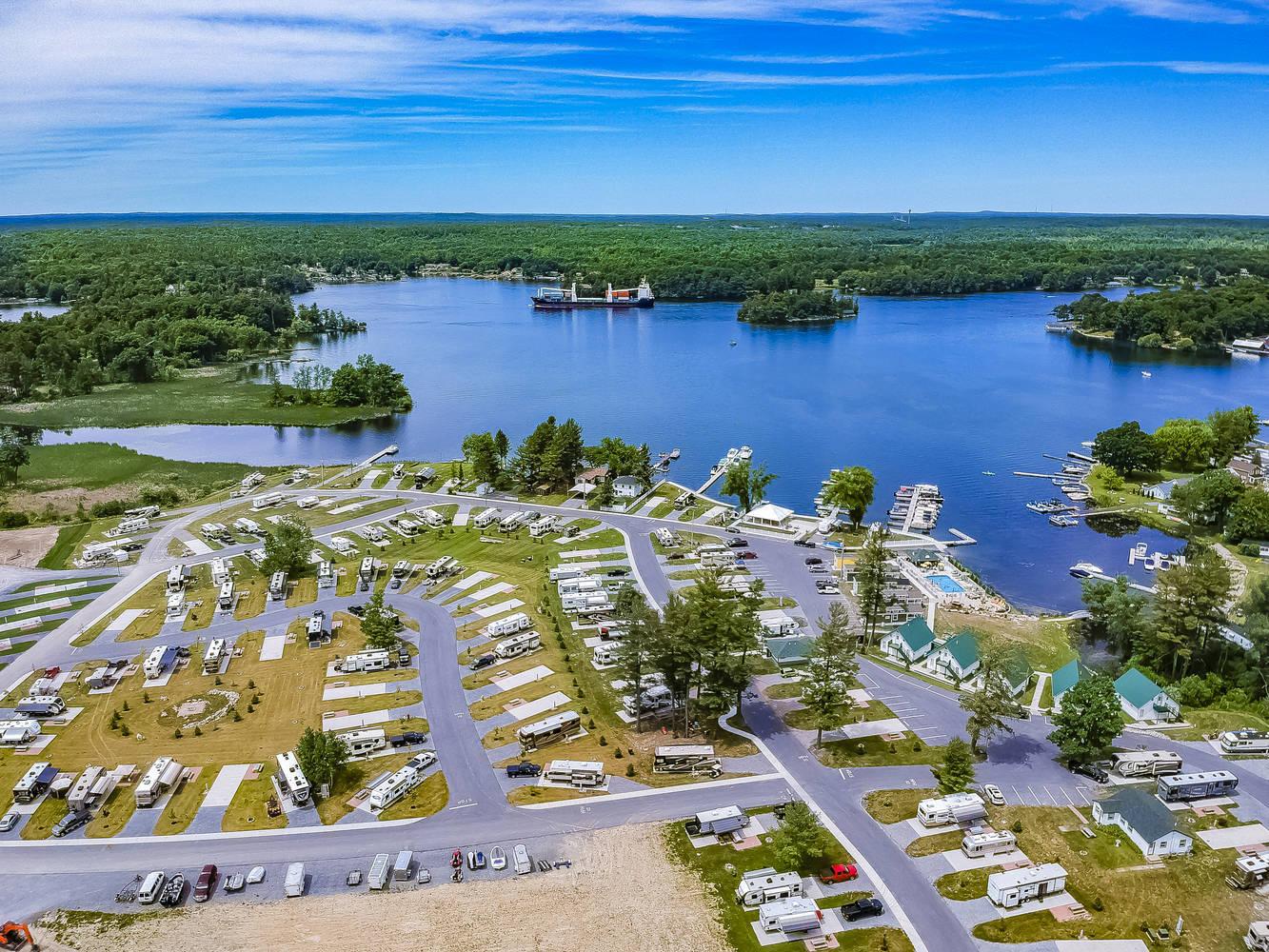 Swan Bay Resort 1000 Islands Premier Rv Resort Vacation