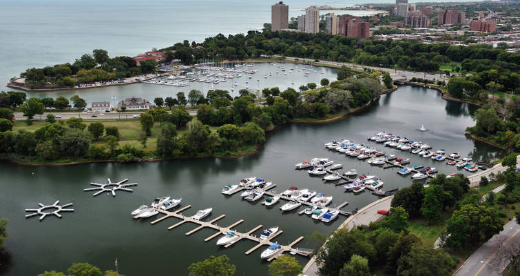 Jackson Park Inner Harbor, the Chicago Harbors