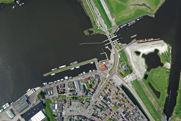 Zoutkamp Binnenhaven Harbour