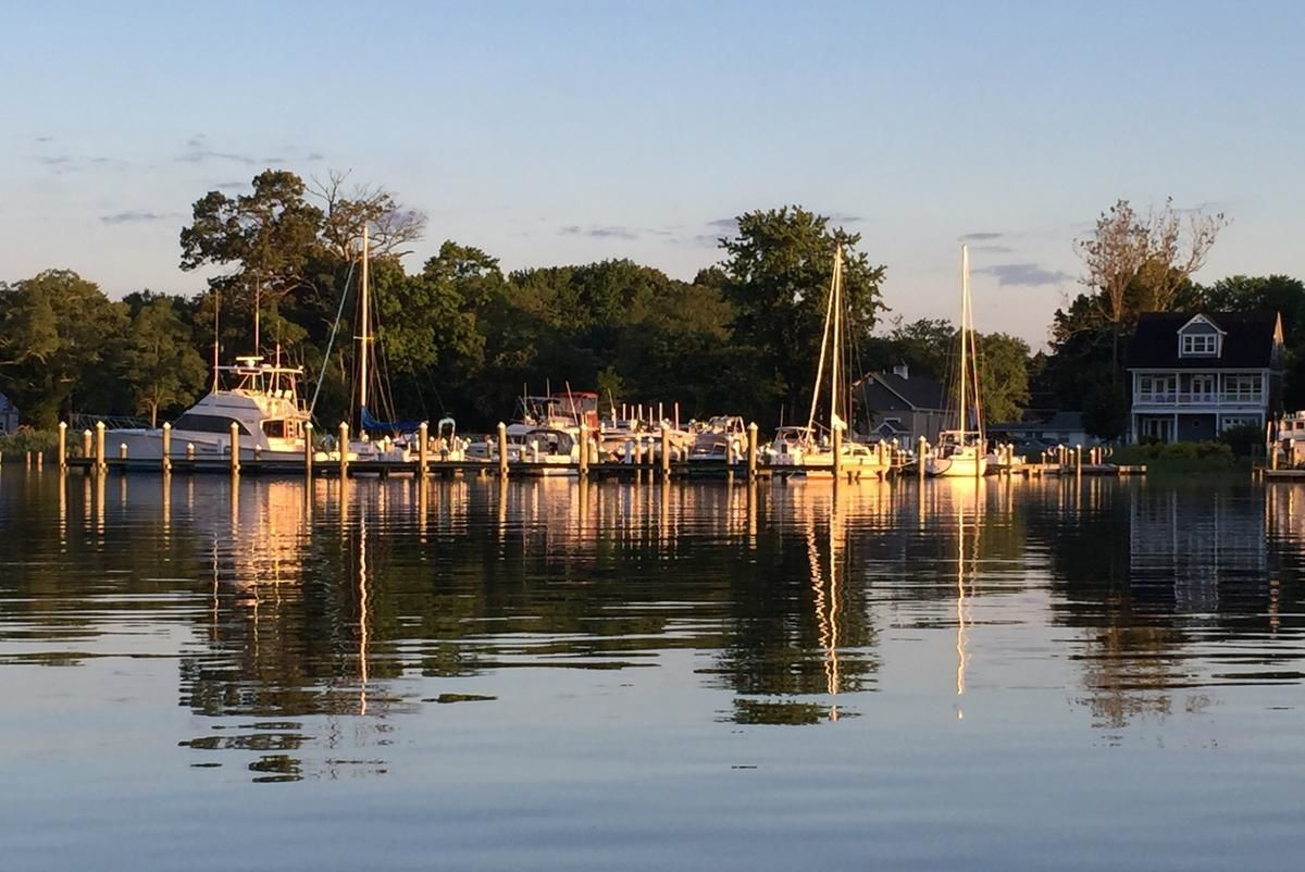 Grays Inn Creek Marina In Rock Hall Md United States Marina