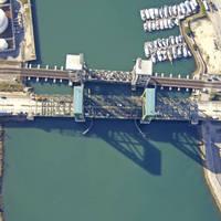 Henry Ford Avenue Vertical Lift Bridge